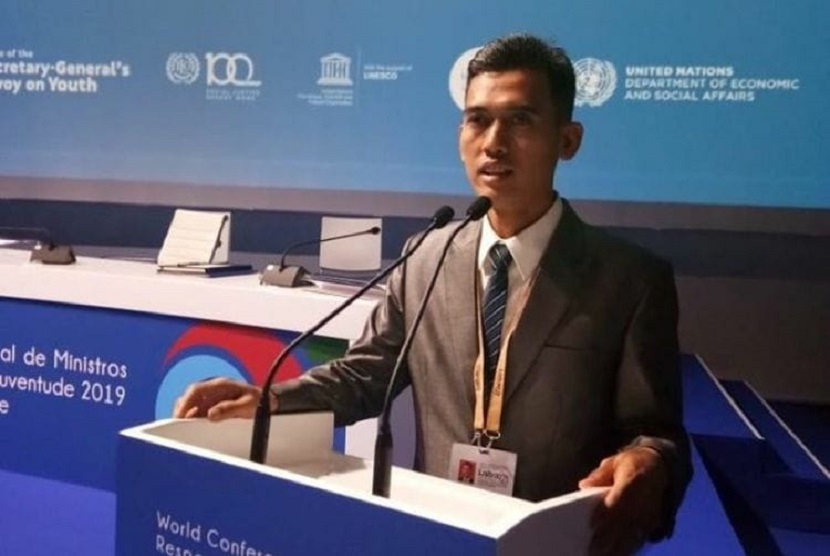 Deputi Bidang Pengembangan Pemuda Kemenpora RI, Asrorun Ni'am.
