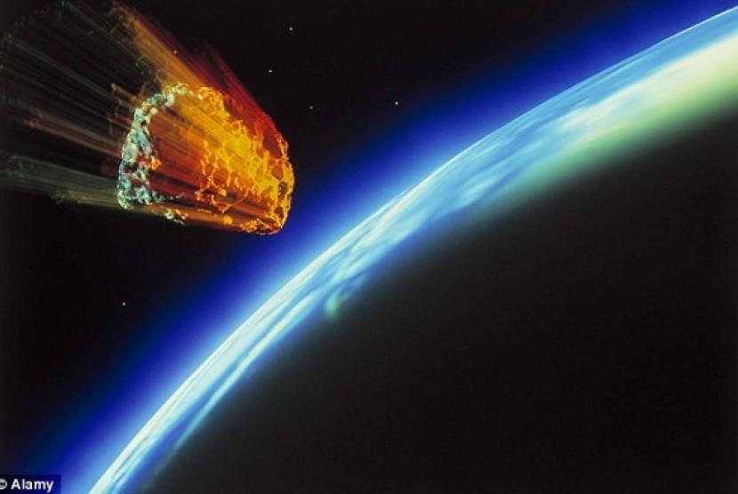 Asteroid. Ilustrasi