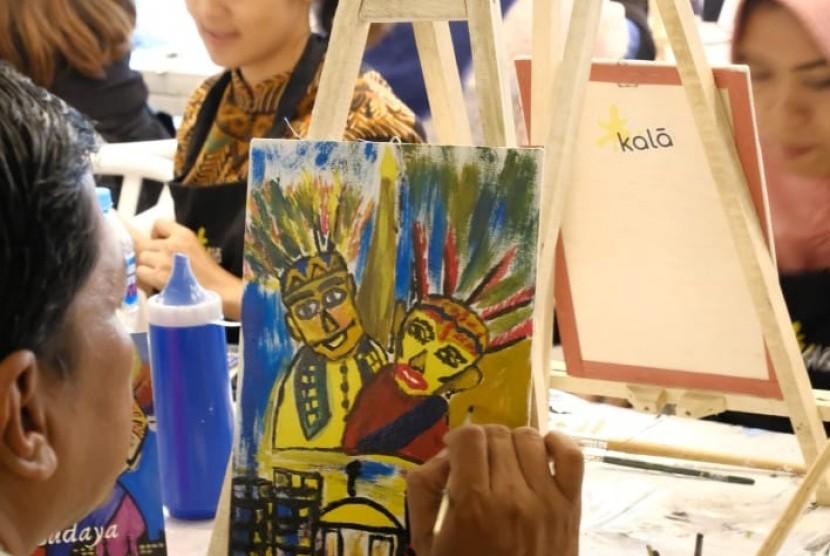 Aston Priority Simatupang Hotel & Conference Center bersama Kala Art menyelenggarakan kegiatan seni melukis dengan mengangkat tema