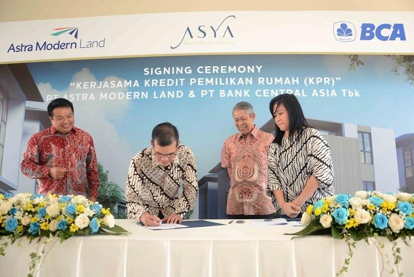 Astra Modern Land-BCA Jalin Kerja Sama Pemasaran KPR ...