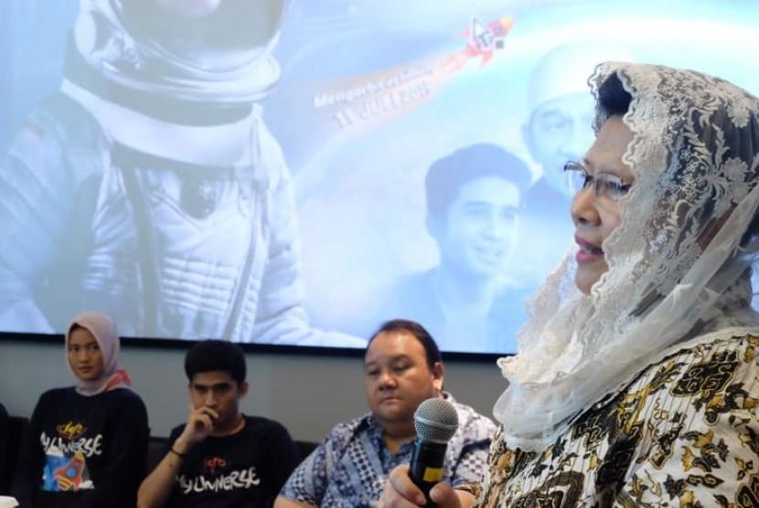 Astronot pertama Indonesia, Prof Pratiwi Pujilestari Sudarmono.