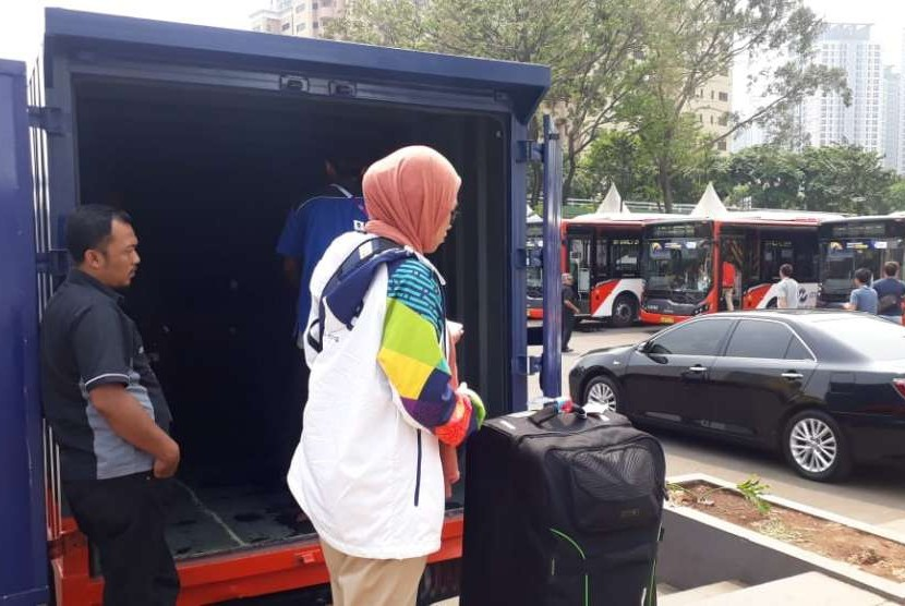Athletes who stayed at Athletes Village in Kemayoran, Jakarta, start to return to their respective countries on Sunday (Sept 2).