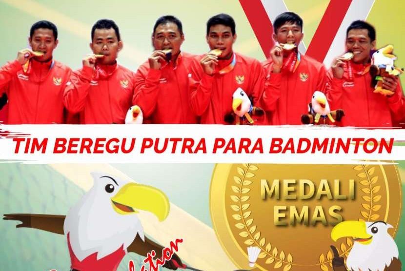 Atlet-atlet yang berjuang di Asian Para games.
