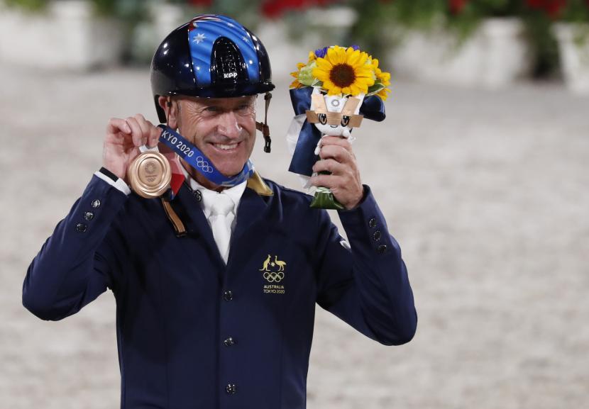 Atlet penunggang kuda Australia, Andrew Hoy.