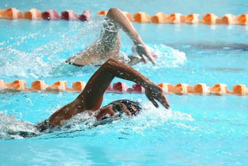Atlet renang Indonesia berlaga di ASEAN School Games (ASG) 2017 di Singapura.
