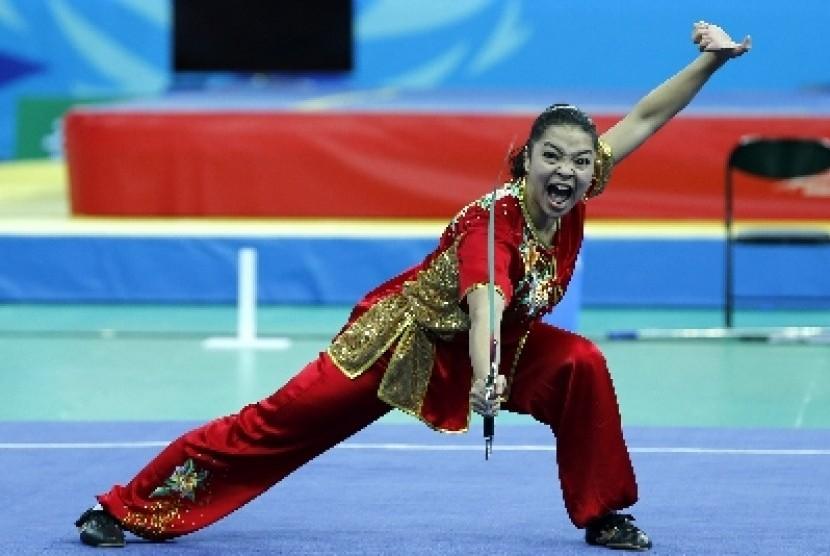 Atlet wushu Indonesia, Juwita Niza Wasni.