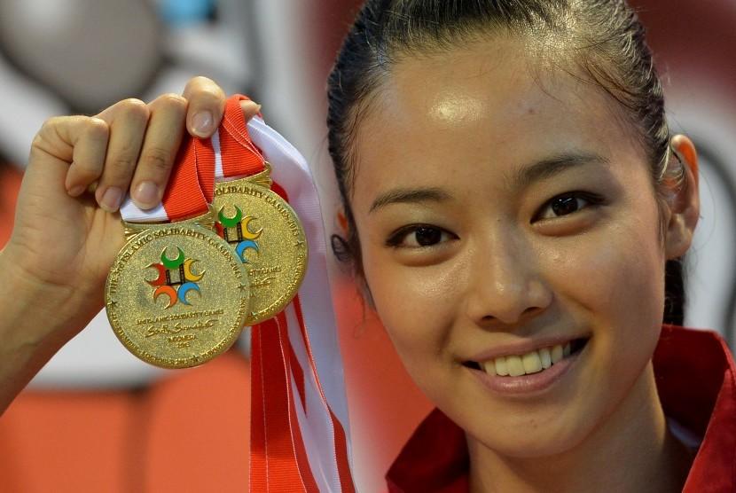 Atlet Wushu Indonesia, Lindswell Kwok.