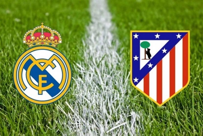 Atletico Madrid kontra Real Madrid
