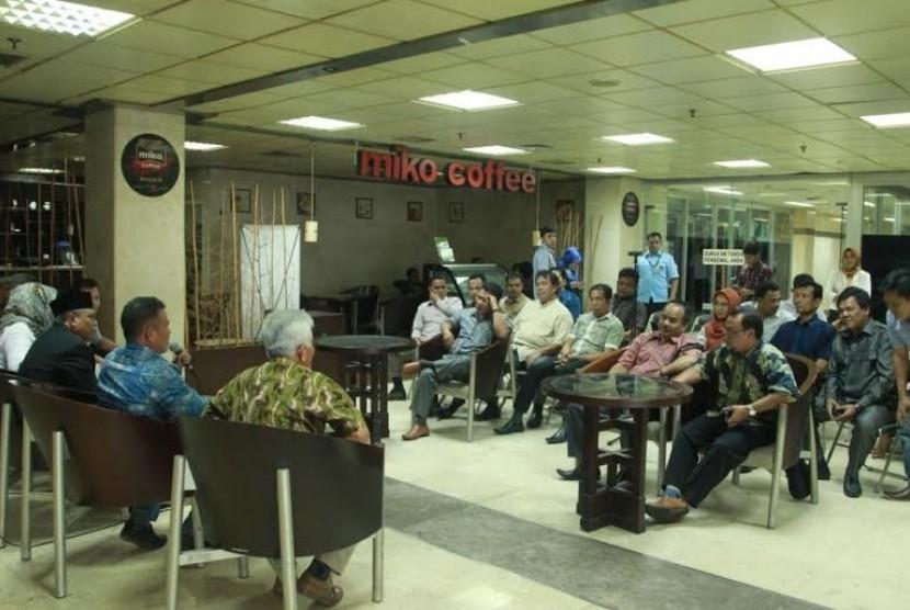 Audiensi DPRD Mukomuko dengan DPD RI.