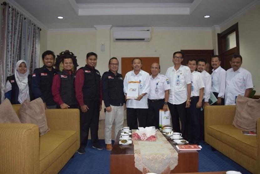 Audiensi yang dilakukan Aksi Cepat Tanggap (ACT) dan Masyarakat Relawan Indonesia (MRI) DIY dengan Pemerintah Kabupaten (Pemkab) Sleman.