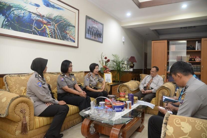 Audiensi yang dilakukan Polda DIY ke Universitas Negeri Yogyakarta (UNY).