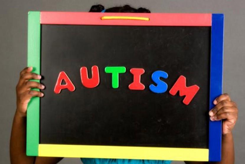 Autisme. Ilustrasi