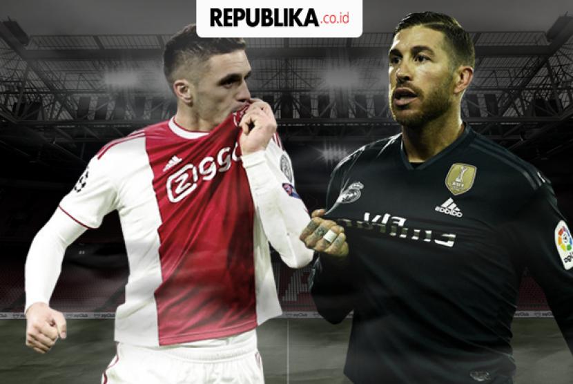 Babak 16 besar Liga Champions, Ajax ve Madrid