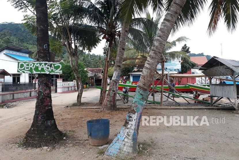 Wisata Pulau Pahawang, Lampung, ilustrasi