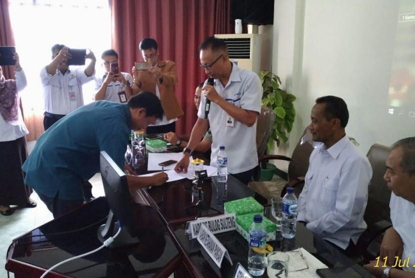 Badan Ketahanan Pangan (BKP) Kementerian Pertanian (Kementan) Agung Hendriadi memimpin langsung rapat sergap di Kalimantan Selatan, Selasa (10/7), dan Sulawesi Tengah, Rabu (11/7).