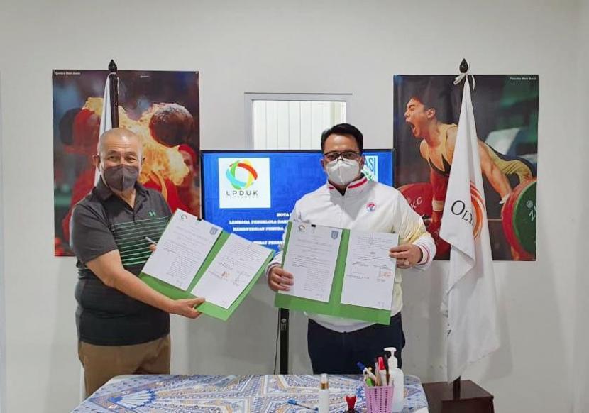 Badan Layanan Umum Lembaga Pengelola Dana dan Usaha Keolahragaan (BLU LPDUK) Kemenpora danPengurus Pusat Persatuan Bola Basket Seluruh Indonesia (PP Perbasi)memperbaruiNota Kesepahaman (MoU) tentang Pengelolaan Dana dan Pengembangan Usaha Keolahragaan