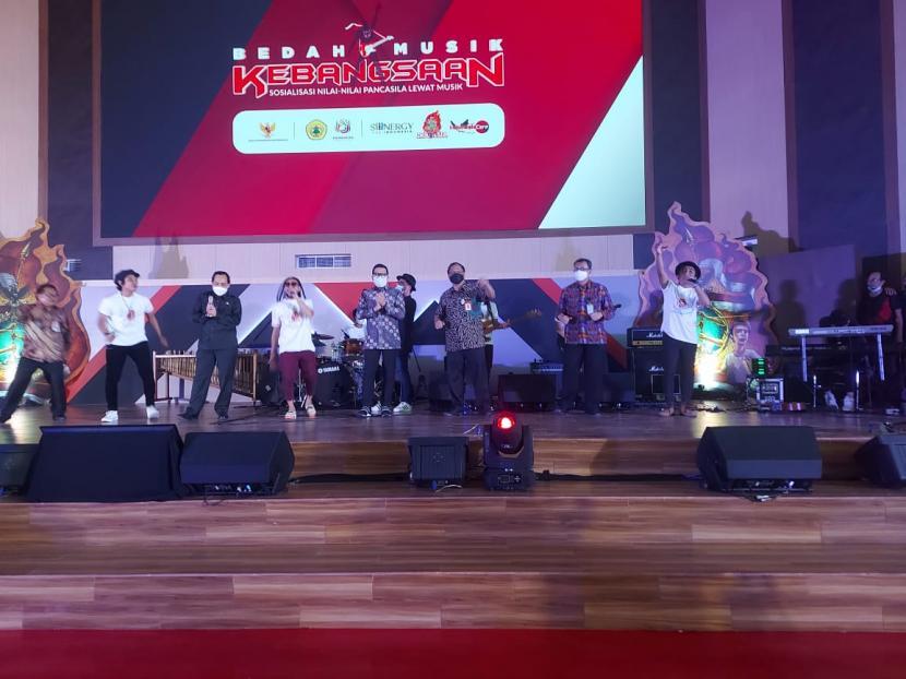 Badan Pembinaan Ideologi Pancasila (BPIP) kembali menggelar Bedah Musik Kebangsaan