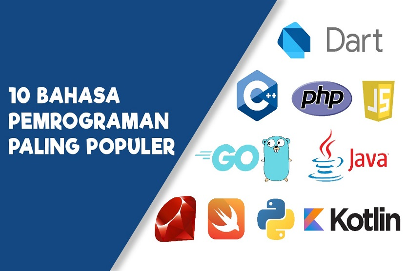 Bahasa pemrograman sendiri telah menjadi penghubung bagi manusia dan mesin untuk berinteraksi. Oleh karena itu, untuk kamu yang akan bekerja di bidang IT seenggaknya bisa mempelajari salah satu dari berbagai jenis bahasa pemrograman.