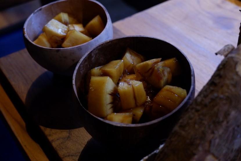 Bajingan, makanan dari singkong khas Temanggung, Jawa Tengah.