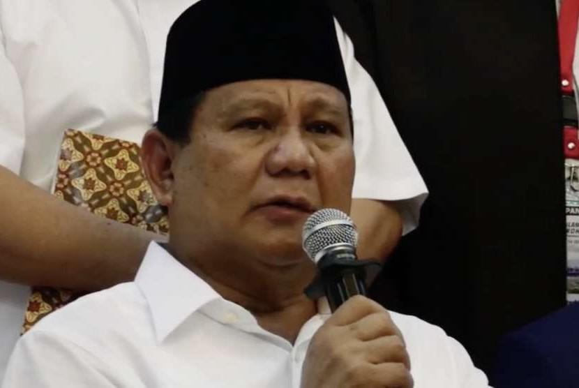 Bakal Calon Presiden, Prabowo Subianto