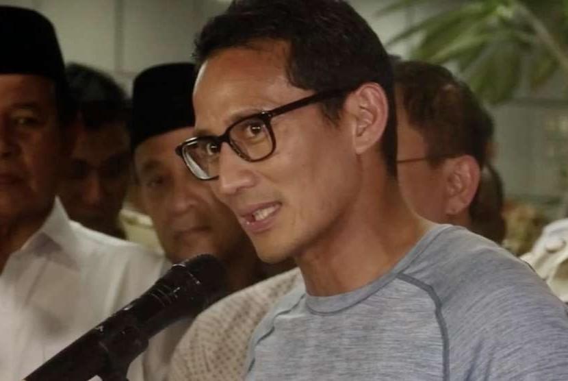 Bakal Calon Wakil Presiden, Sandiaga Uno
