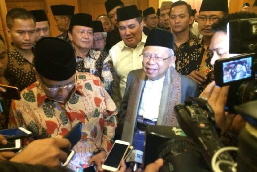 Ketua Umum PBNU Said Aqil Sirodj dan Rais Aam PBNU KH Ma