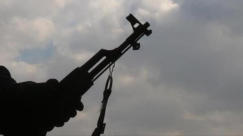 Baku tembak Brimob Polri-TNI dan teroris KKB Papua terjadi Distrik Kiwirok, Pegunungan Bintang, Papua. Kontak tembak (ilustrasi).