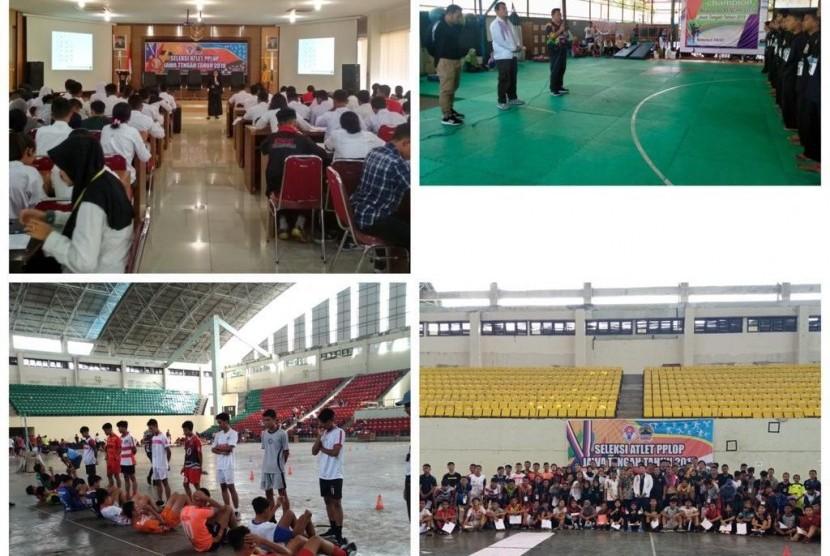 Balai Pusat Pendidikan dan Latihan Olahraga Pelajar (BPPLOP) Jawa Tengah melaksanakan seleksi penerimaan siswa baru.