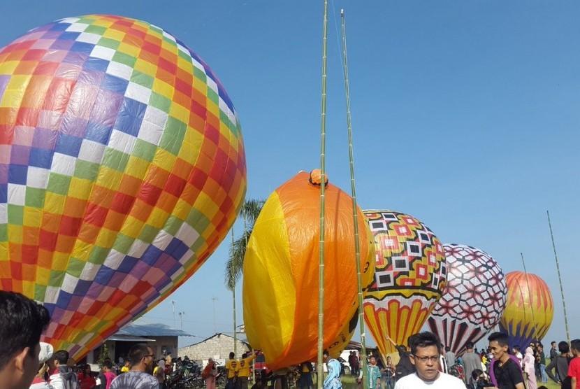 Balon udara. Ilustrasi