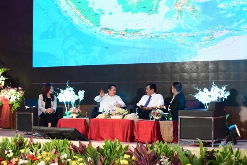 Bamsoet, dalam Seminar Nasional 'Kebijakan dan Koordinasi Bidang Maritim untuk Kesejahteraan Nelayan' di Gedung BPK RI, Jakarta, Senin (19/3 ) lalu.