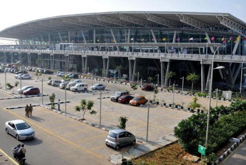 Bandara Chennai, India.