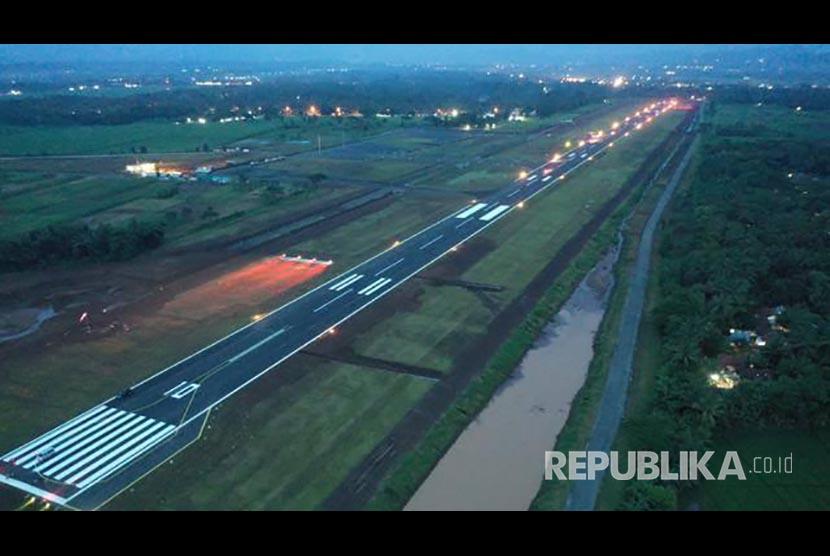 Bandara Jenderal Besar Soedirman di Purbalingga, Jawa Tengah.