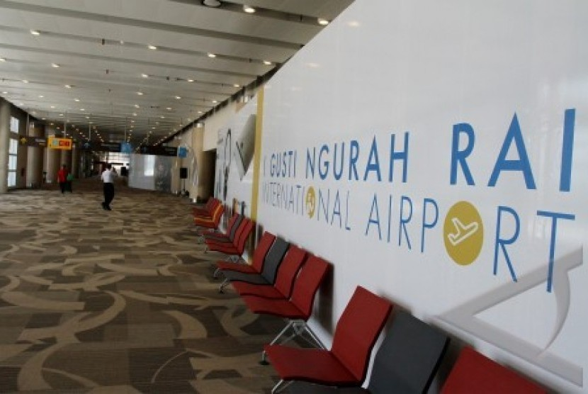 Bandara Ngurah Rai di Denpasar.