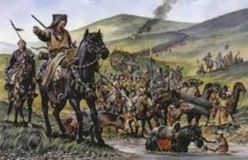 Bangsa Mongol.
