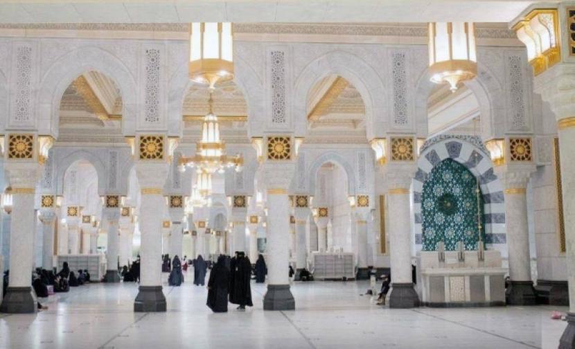 Bangunan dan ruangan baru perluasan Masjidil Haram.