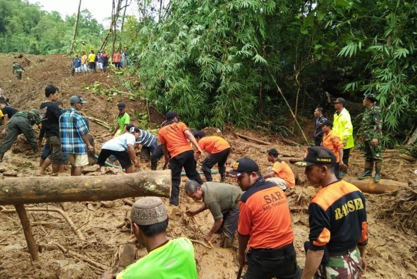 Banjir longsor di Purworejo, Jawa Tengah