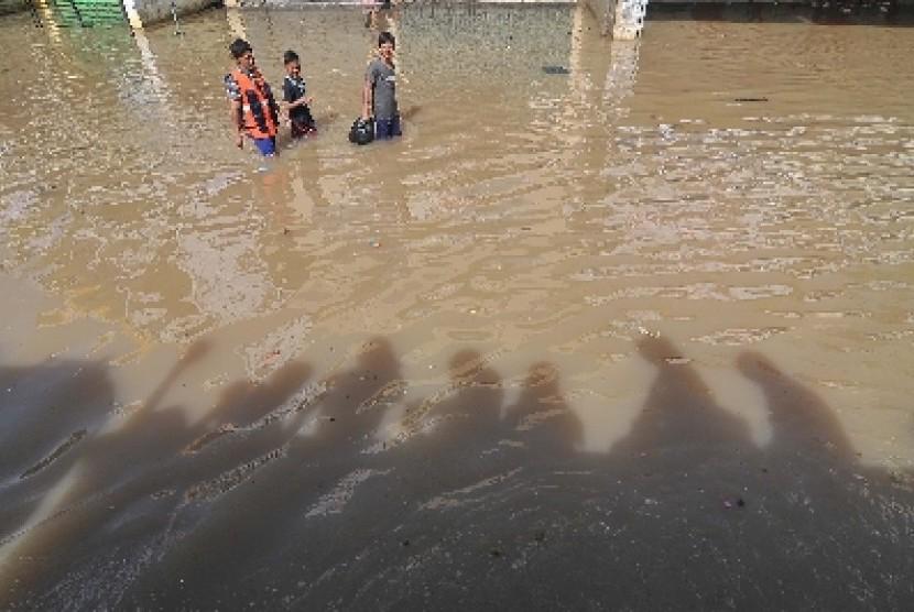 Banjir (ilustrasi).