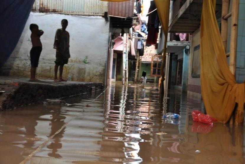 Banjir, salah satu kondisi merebaknya penyakit