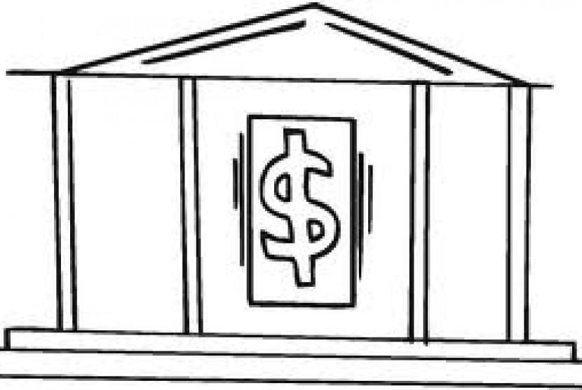 bank (ilustrasi)