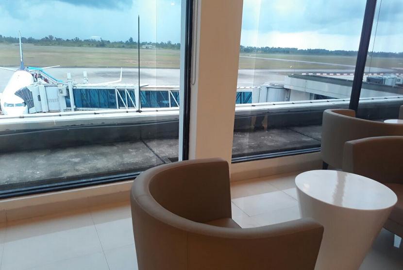 Banua Lounge di Bandara Internasional Minangkabau.