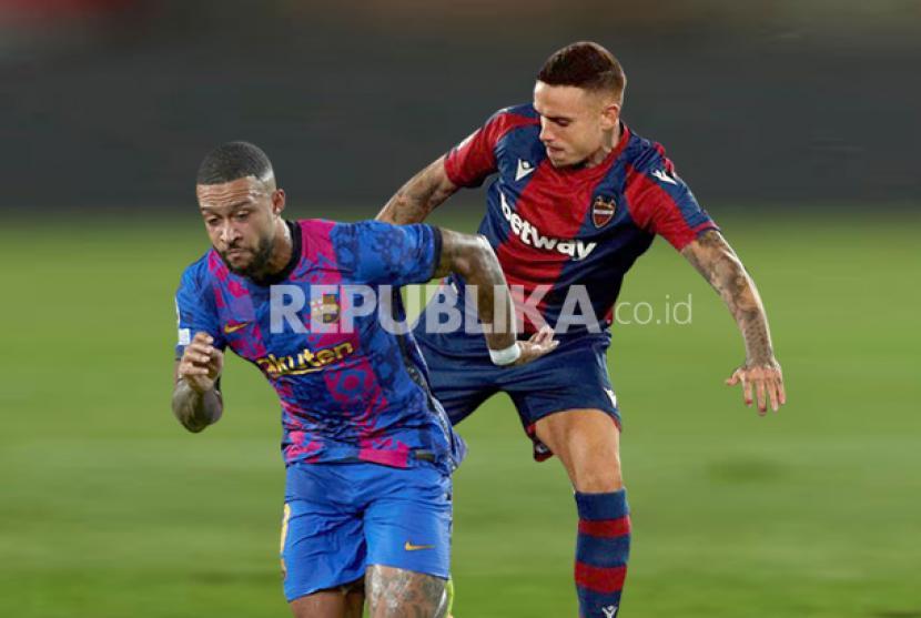 Barcelona akan menjamu Levante di Camp Nou