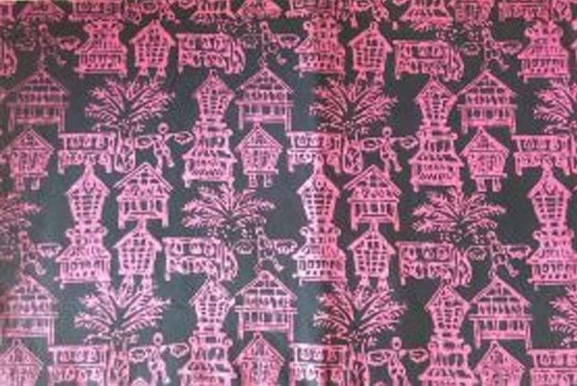 Batik Lebak motif Kahuripan Baduy.