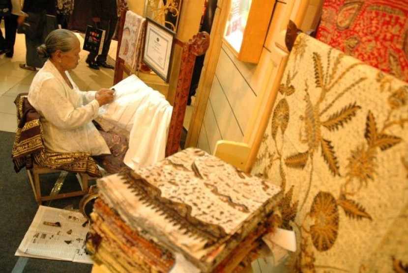 Batik tulis/ilustrasi