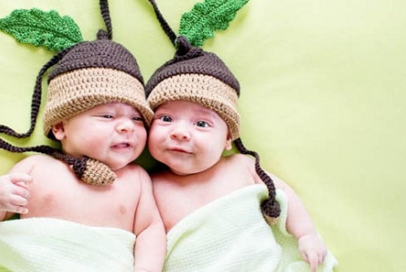 Bayi kembar (Ilustrasi)