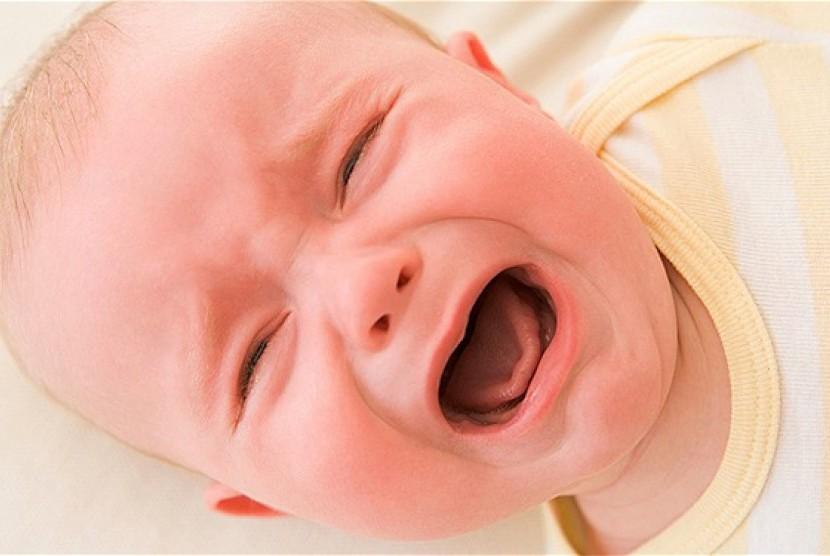 Bayi menangis/ilustrasi