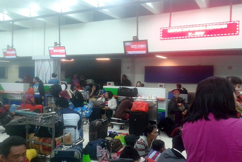Penumpang maskapai Lion Air.