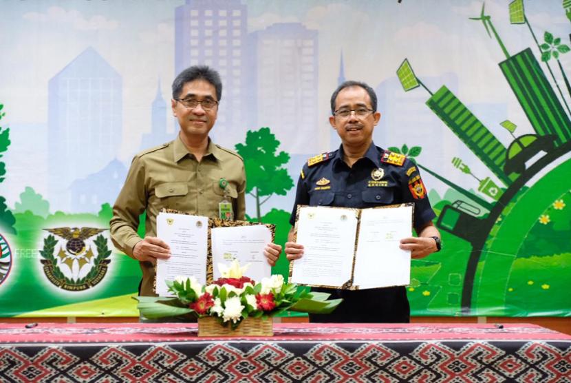 Bea Cukai bekerja sama dengan Badan Penelitian, Pengembangan, dan Inovasi (BPPI) Kementerian Lingkungan Hidup dan Kehutanan (KLHK).