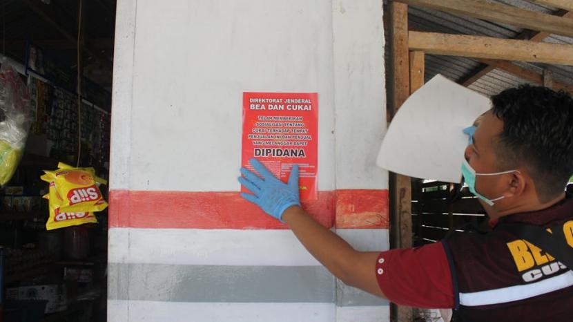 Bea Cukai Bengkalis dan Bea Cukai Cirebon berhasil mengamankan rokok ilegal berbagai merek.