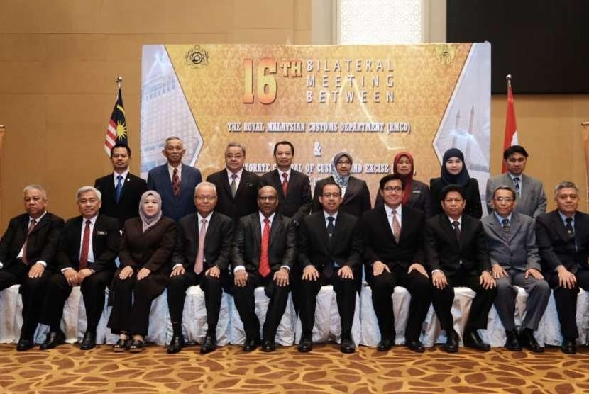 Bea Cukai bersama The Royal Malaysian Customs Department (RMCD) mengadakan pertemuan bilateral ke 16.