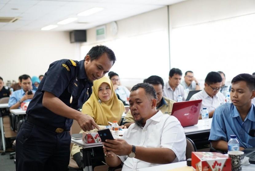Bea Cukai Bogor mengadakan asistensi kepada perusahaan penerima fasilitas Kawasan Berikat Mandiri, Rabu (31/7)